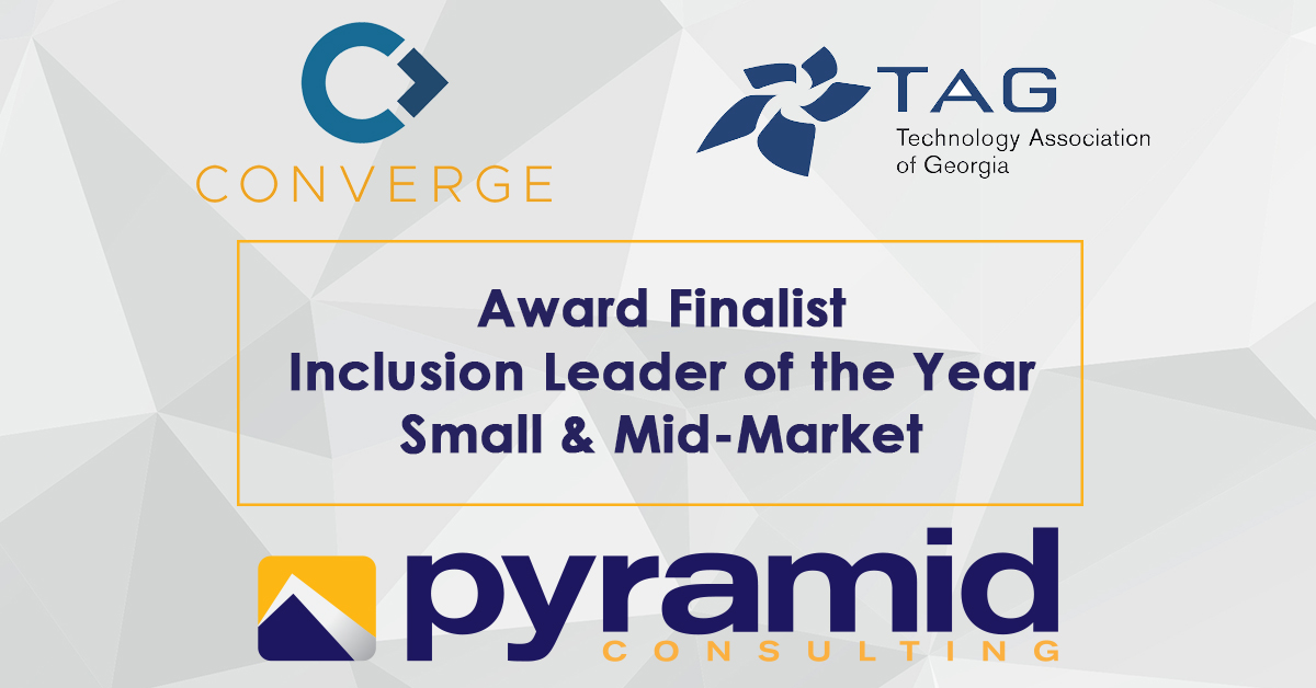 Pyramid Consulting Named a Finalist for Converge Inclusion Leader of the Year